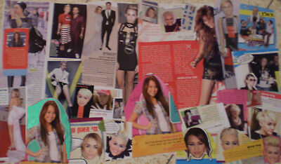 Miley Cyrus > ISRAEL HEBREW MAGAZINE CUTTINGS CLIPPINGS