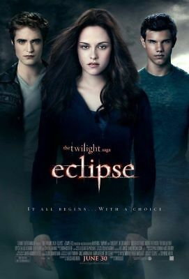 Twilight Eclipse Edward Jacob Original D/S FILM Plakat