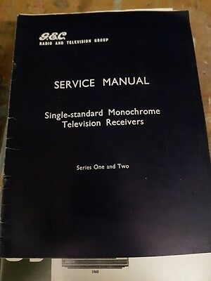 service manual for gec single stgandard monochrome servies 1 and 2