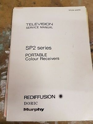 service manual for rediffusion sp2 series