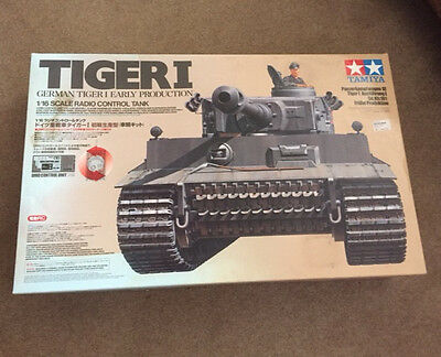 TAMIYA RC 56011 Tank Tiger I Early Production 1:16 Assembly Kit