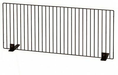 Iris Freestanding Safe Screen Steel Wire Brown Pet Dog Partition Gate 60 x40 cm