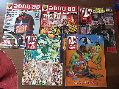 2000AD feat. Judge Dredd #646,#950 & #970 + 3x 2000AD Sci-fi Specials