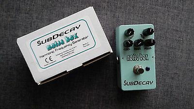 Noise Box Super Decay Pedale de Distortion avant gardiste