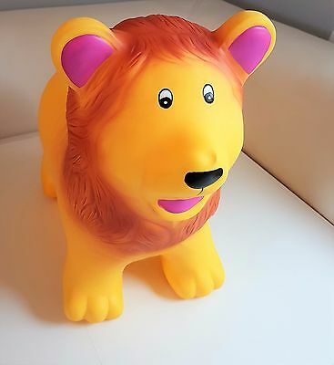 LION  Animal  Hopper Sit & Ride Inflatable play soft fun NEW boxed