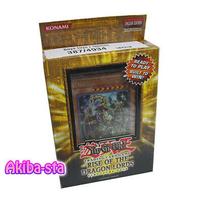 Yugioh English SDRL Structure Deck Rise of the Dragon Lords 1st Edition Unopened