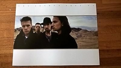 U2 The Joshua Tree Lithograph Poster Deluxe 30th Anniversary Bono The Edge