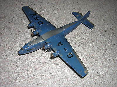 "RARE  DINKY TOYS MODEL No.62P ARMSTRONG WHITWORTH  ""EXPLORER'  AIR LINER"