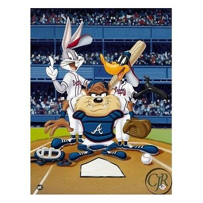 Warner Brothers ** At The Plate Braves