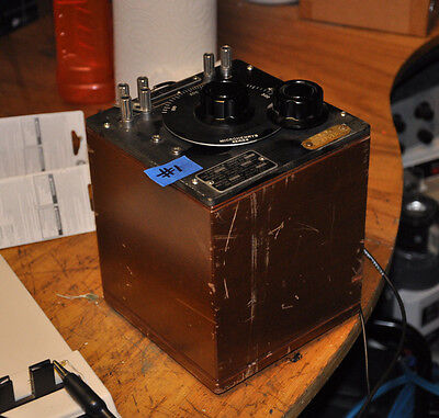 TESTED 107 K 0-500mh VARIABLE INDUCTOR GR GENERAL RADIO 107K