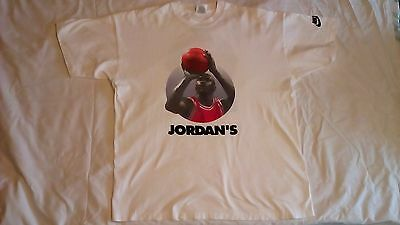 NIKE MICHAEL JORDAN IS BACK Vintage T Shirt 1995 Chicago BULLS 45 *RARE*