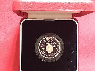 1994 Royal Mint Piedfort Silver Proof £2 Two Pounds Coin Bank Of England NO COA