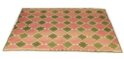ANTIQUE PATCHWORK QUILT, late 19th-early 20th century. Lot 785