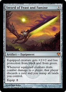MTG: Sword of Feast and Famine, Mirrodin Besieged, Magic the Gathering