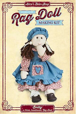 Rag Doll Sewing Kit - Emily with Traditional Dress Outfit - 54cm when made