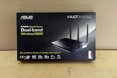 ASUS RT-N66U N900 Dual-band Wireless Router 900Mbps Gigabit WiFi