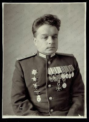 Photo Russian USSR Army Colonel Officer (2158)