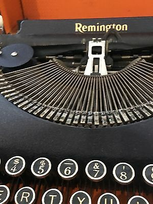 1939  worlds fair Remington typewriter. Excellent condition.