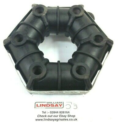 Grass Topper Rubber Donut Drive Coupling For Abbey Conor Fleming Major LSM etc