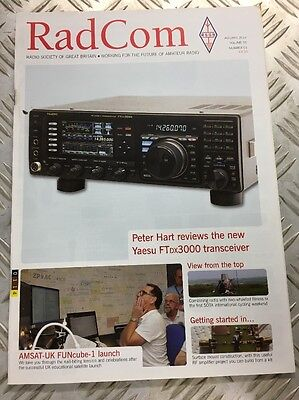 RadCom Magazine for Radio Amateurs January 2014 Edition