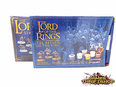 Warhammer Lord of the Rings Starter Paint Set Models Only x 2