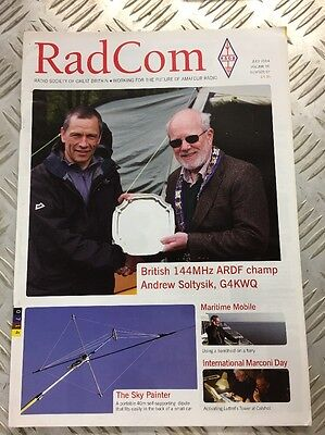 RadCom Magazine for Radio Amateurs July 2014 Edition