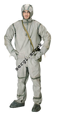 NBC Soviet military army chemical protection rubber suit L-1 for GP-5/7/9 New