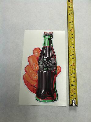 Coca Cola  Decal Soda Hand Sticker 8""