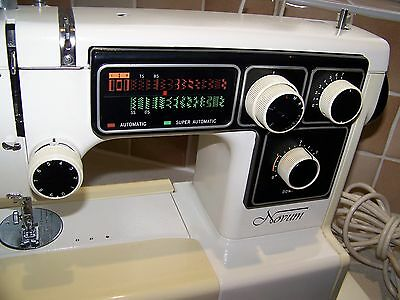 Japan Janome Novum 5000 Semi Industrial Sewing Machine,spares,sold As Seen