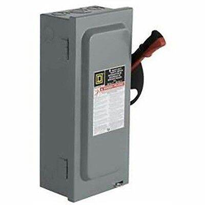Schneider Electric Square D H362 60-Amp 600V Safety Disconnect Switch SquareD