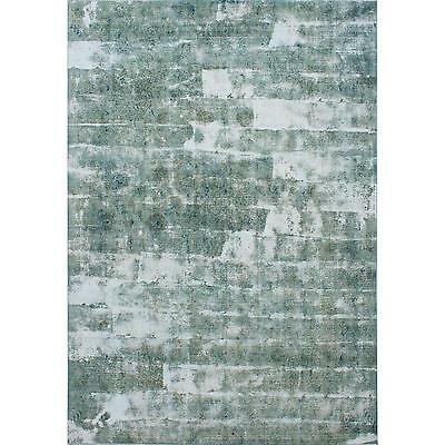"""Unique Vintage Persian Overdyed Mint Green Rug- 8'10"""" x 12'2"""""""