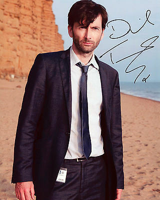 David Tennant - Alec Hardy - Broadchurch - Autograph REPRINT