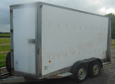 Ifor Williams BV126G Box Trailer ( 7ft High ) The Biggest One