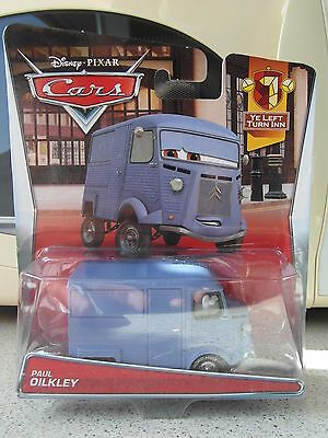 Disney Pixar Cars 2 Paul Oilkley Citroen Van Mattel 1.55 Scale BNIB Rare