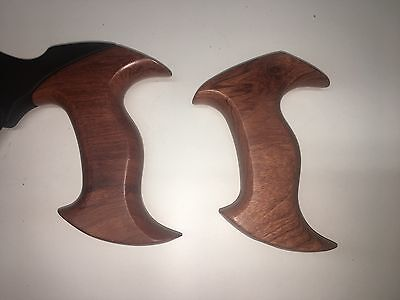 New Veritas bubinga saw handles