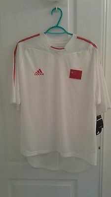 China 2004/05 Home Soccer Football Jersey Shirt Large  Extremely Rare