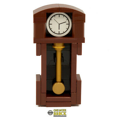 Grandfather Clock - Antique Interior Furniture modular/haunted | All parts LEGO