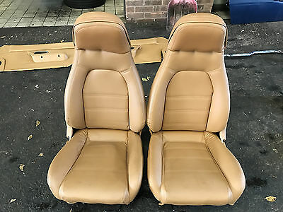Mazda Mx5 Mk1 Leather Seats Mx5 V Special Tan Leather Seats Very Good Condition