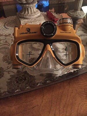 Liquid Image~UNDERWATER DIGITAL CAMERA MASK~5MP MJPEG Video (15 feet - 5 meters)