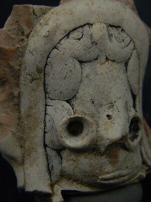 Ancient Teracotta Mother Goddess Head Indus Valley 2000 BC  #TR1088