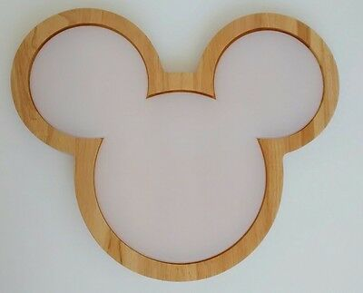 Disney Mickey Mouse Cutting Board and Wood Serving Tray