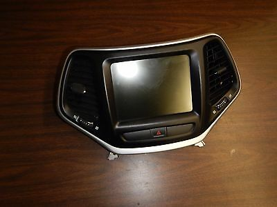 Jeep Cherokee KL 2014-2017    Dash Bezel Display Radio w/ Air Vents  FREE SHIP
