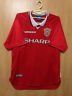 Manchester United 1999/2000 Cl Winners Football Shirt Jersey Vintage Umbro