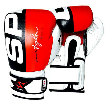 Leather Boxing Gloves Top quality MMA Punch Bag Muay Thai Kick Boxing - Spedster