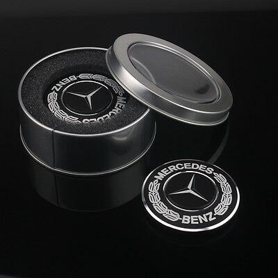 3D Benz Logo Fidget Hand Spinner Finger EDC Aluminium Alloy Focus Desk Toy Gifts