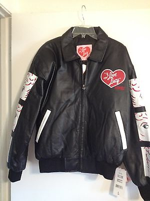 I Love Lucy Leather Jacket L-1X