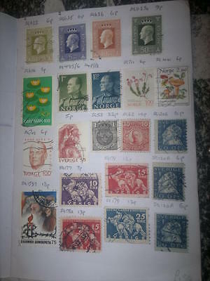 Stamp World Wide Approval Book_Loaded with stamps,