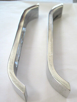 Smith Miller trucks  L Mack  bumpers pair of replacement highly polished