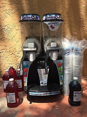 Bunn 2 head  frozen drink machine margarita slushy slurpee smoothie slush W/Mix