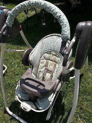 Graco® Duo 2 in 1 Swing and Bouncer, GUC!!